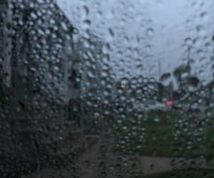 dark and rain image