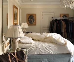 interior, home, and bedroom image