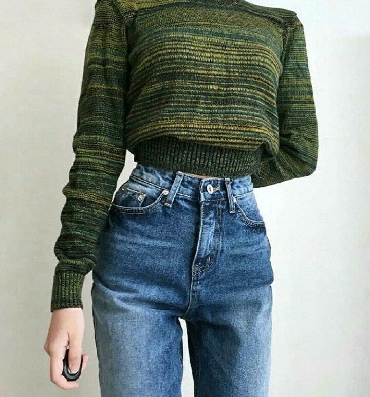fashion, style, and green image