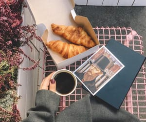 chic, coffee, and croissants image