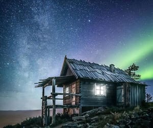 finland, house, and lights image
