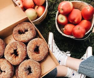 autumn, delicious, and donuts image