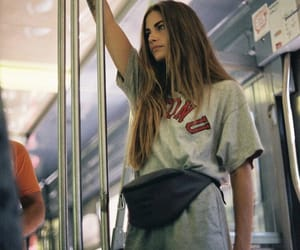 girl, indie, and metro image