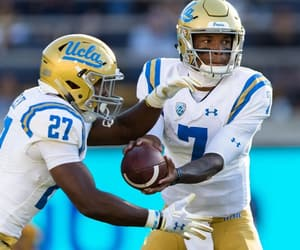 ucla, college football, and blue and gold image