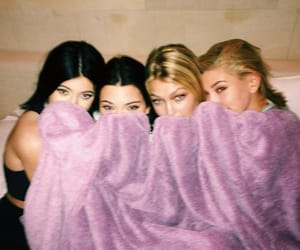 kylie jenner, kendall jenner, and gigi hadid image