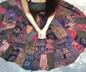 etsy, bohemian clothing, and gypsy clothing image