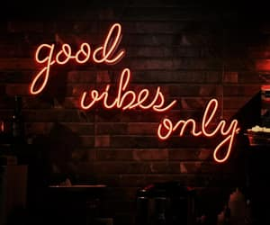 glow, neon, and quotes image