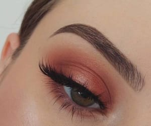 makeup, beauty, and eyes image