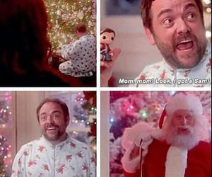 christmas, funny, and lucifer image
