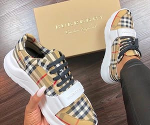 shoes, sneakers, and Burberry image