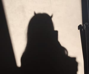 shadow, dark, and Devil image