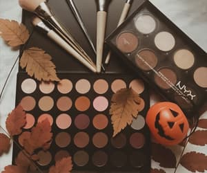 fall, Halloween, and makeup image