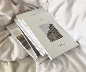 white, book, and aesthetic image