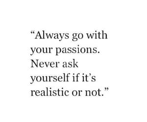 quotes, passion, and Dream image