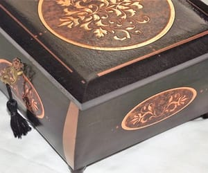 box, copper, and deluxe image