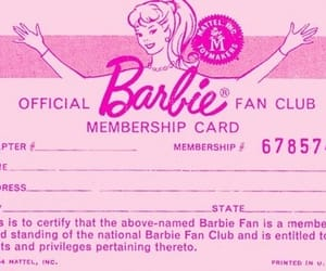 baby, barbie, and club image