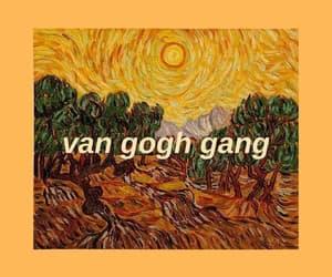 wallpaper, van gogh, and yellow image
