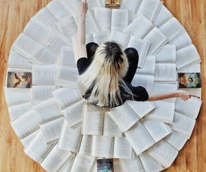 books, creativity, and photography image