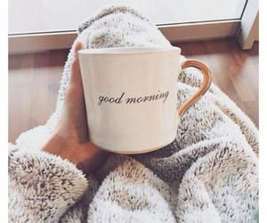 morning, coffee, and good morning image