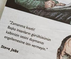 Steve Jobs, alıntı, and türkçe sözler image