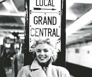 blonde, happy, and Marilyn Monroe image