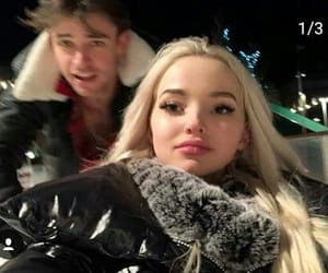 dove cameron and thomas doherty image