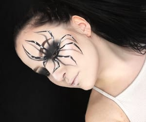diy, facepaint, and Halloween image