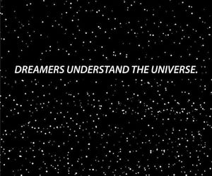 dreamer, stars, and wallpaper image