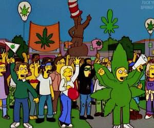 cartoon, stoned, and gif image