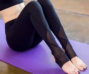 leggings, yoga, and net image