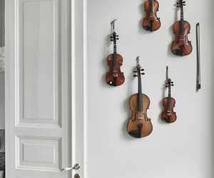 music, violin, and instrument image