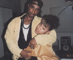 old school, oldies, and tupac image
