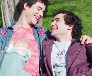 gay couple, boyfriends, and blasnior image