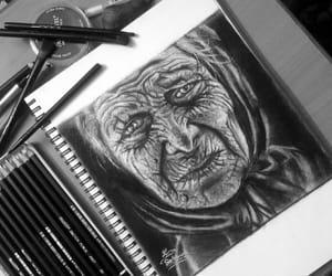 art, draw, and lama image