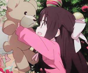 anime, anime girl, and bears image