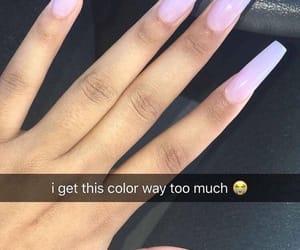 clear, hands, and nail polish image