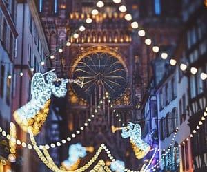 christmas, lights, and holy xmas image
