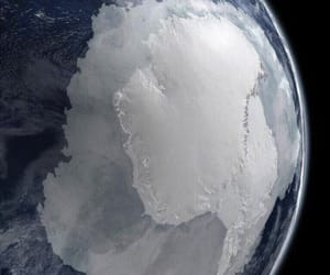 earth, space, and antarctica image