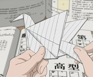 aesthetic, korean, and origami image