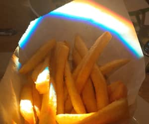 aesthetic, food, and French Fries image