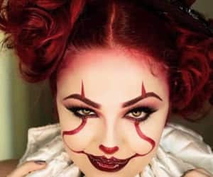 clowns, funny, and girls image