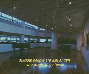 angel, depression, and stress image