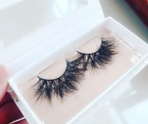 eyelashes, fashion, and makeup image