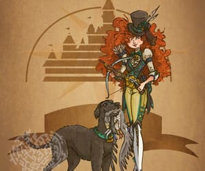 bear, steampunk, and brave image