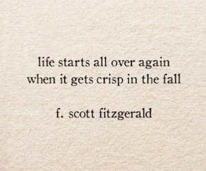 fall, fitzgerald, and quote image