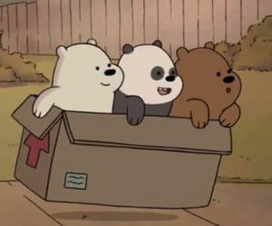 bears, friends, and webarebears image