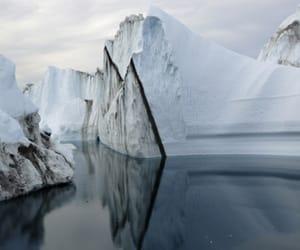 ice, iceberg, and nature image