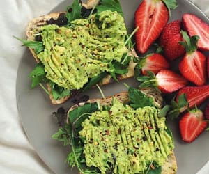 avocado, snack, and breakfast image