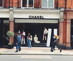 chanel, shopping, and travel image