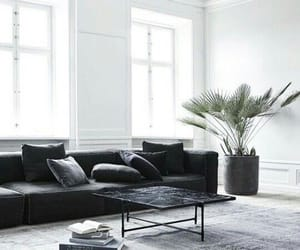 apartment, black, and black and white image